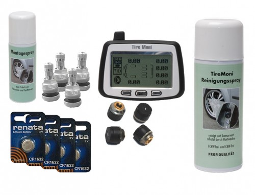 TireMoni tpms TM-240 carefree package