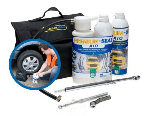 Premium-Seal AIO for Campers with twin-wheels