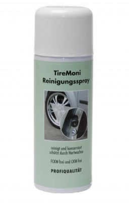 TireMoni cleaning spray
